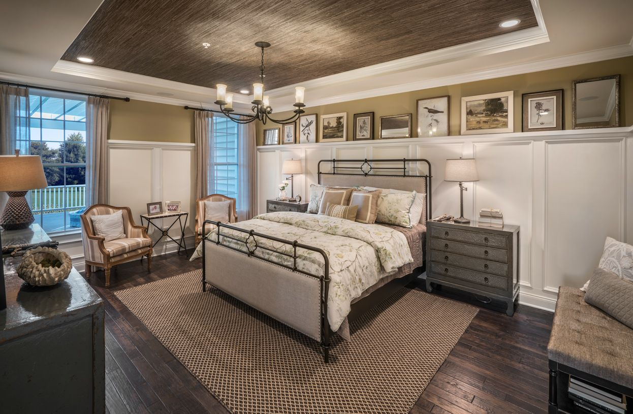Bedroom featured in the Brandeis By Toll Brothers in Philadelphia, PA