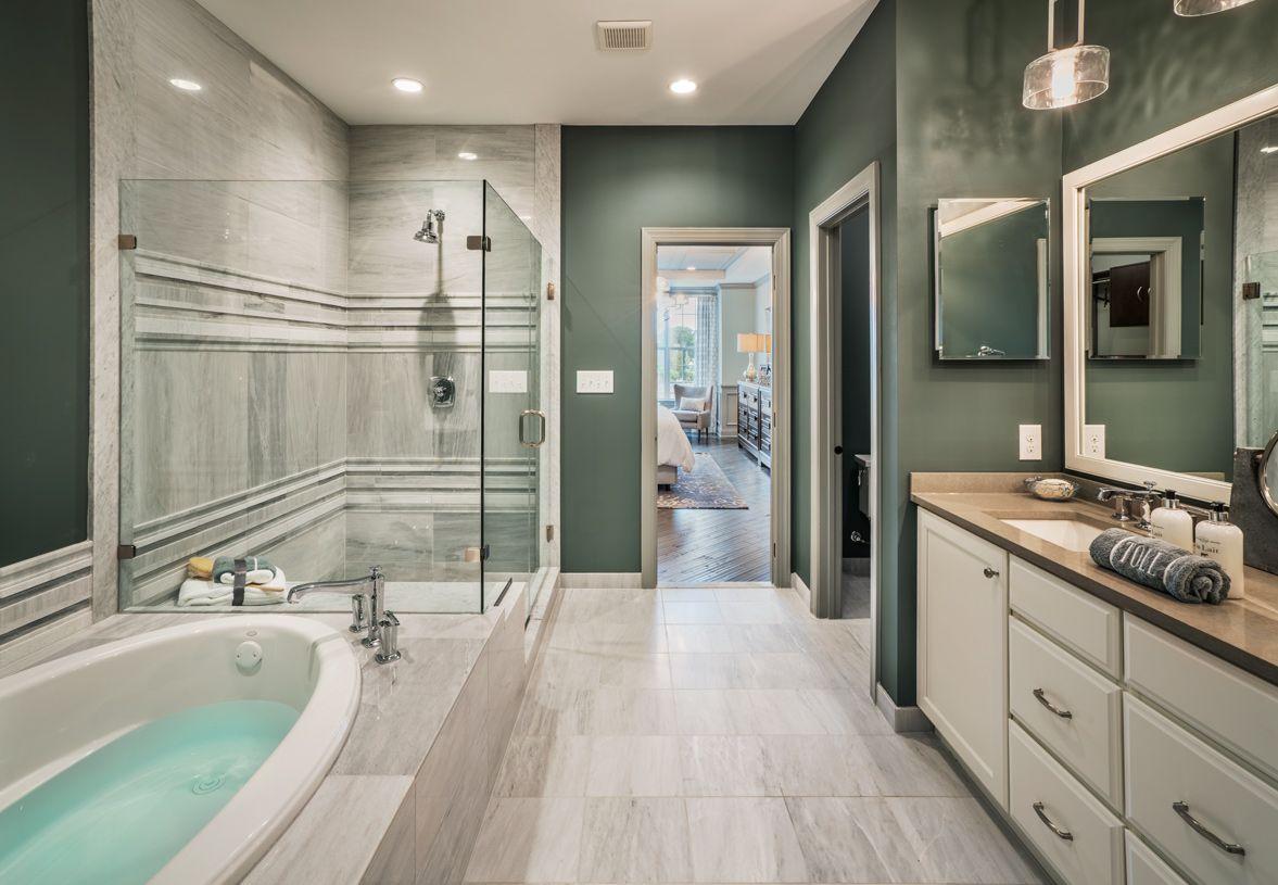 Bathroom featured in the Vanleer By Toll Brothers in Philadelphia, PA