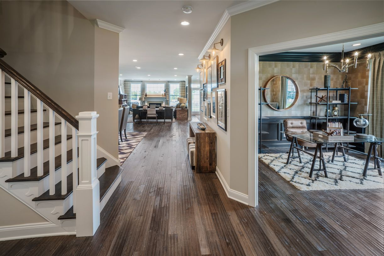 Living Area featured in the Delancy By Toll Brothers in Philadelphia, PA