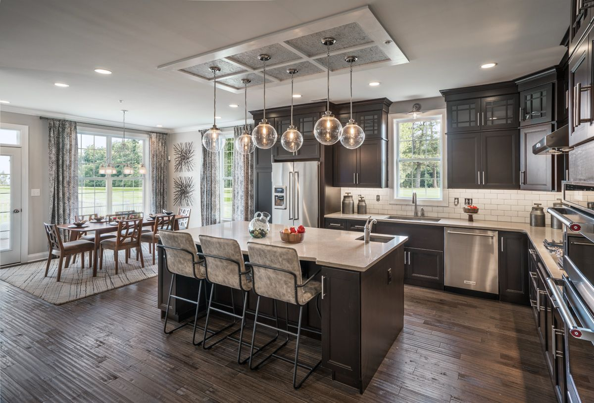 Kitchen featured in the Delancy By Toll Brothers in Philadelphia, PA