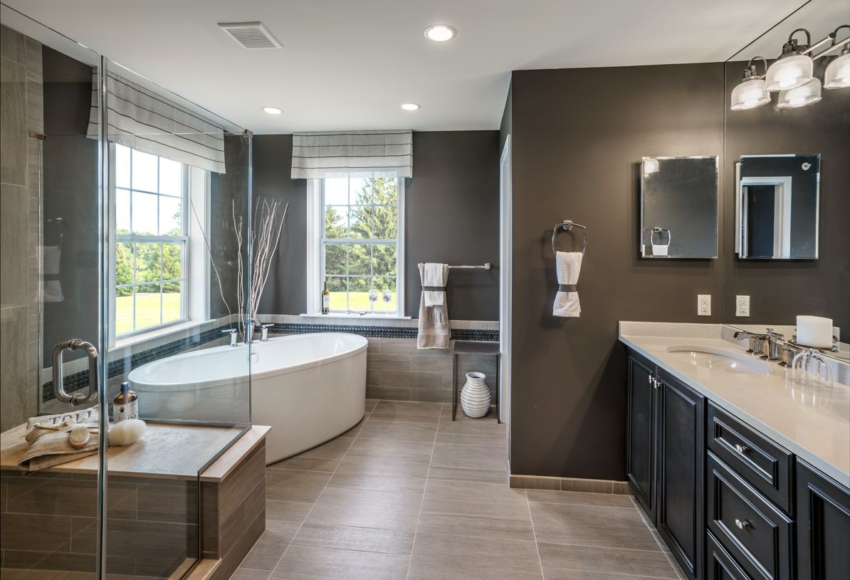 Bathroom featured in the Delancy By Toll Brothers in Philadelphia, PA
