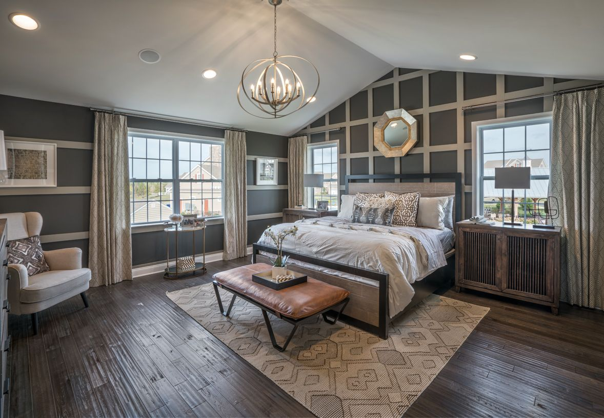 Bedroom featured in the Delancy By Toll Brothers in Philadelphia, PA