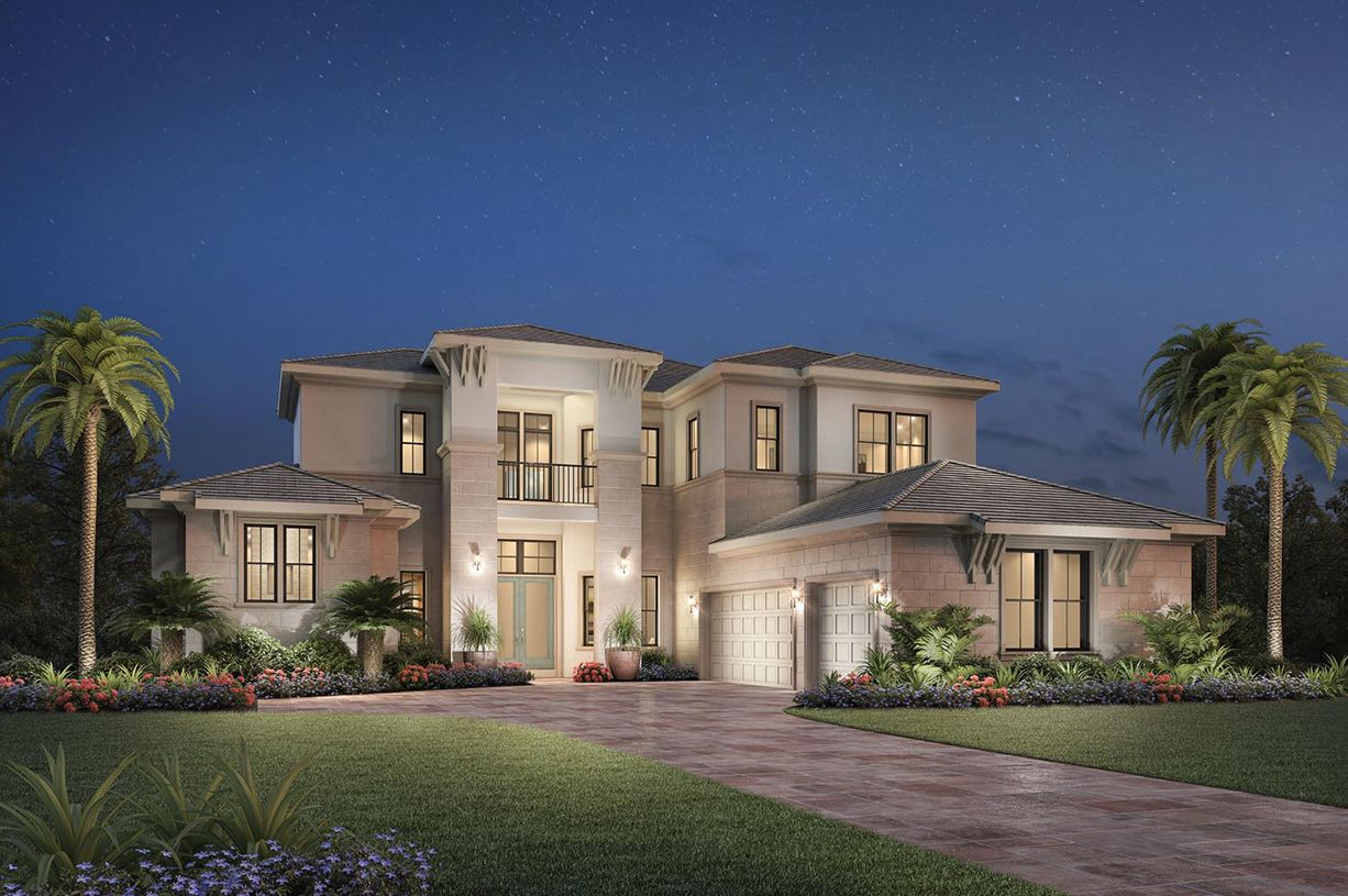 Exterior featured in the Dalenna II By Toll Brothers in Palm Beach County, FL