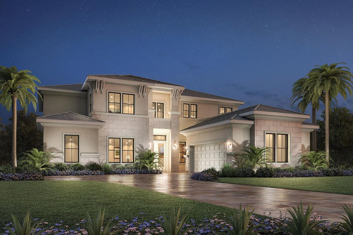Exterior featured in the San Lucia By Toll Brothers in Palm Beach County, FL