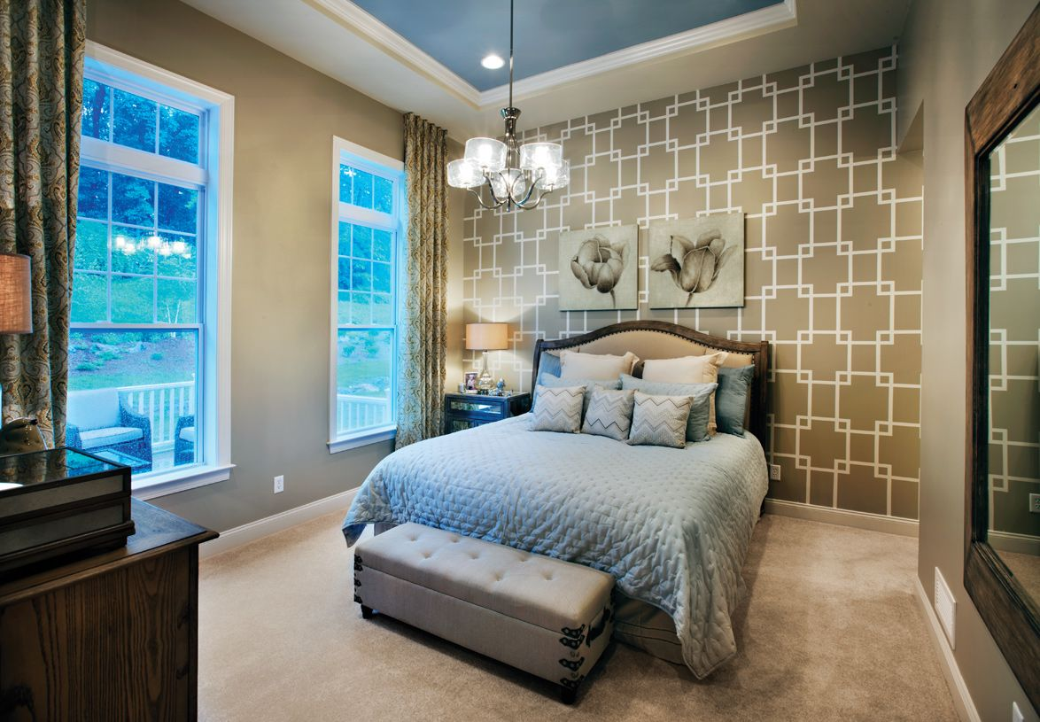 Bedroom featured in the Hickory By Toll Brothers in Waterbury, CT