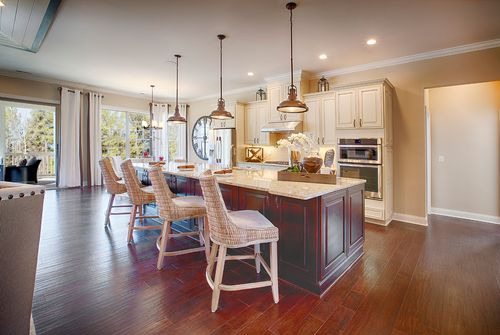 Kitchen-in-Waverly-at-Regency at White Oak Creek-in-Apex