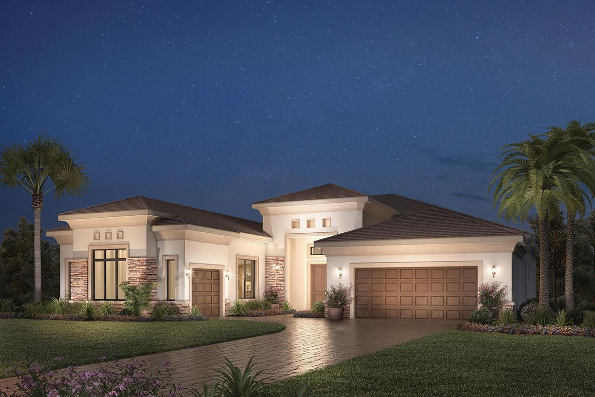 Exterior featured in the San Giorgio By Toll Brothers in Palm Beach County, FL