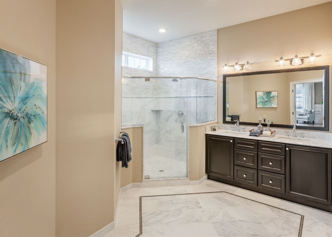 Bathroom featured in the Merrick By Toll Brothers in Boston, MA