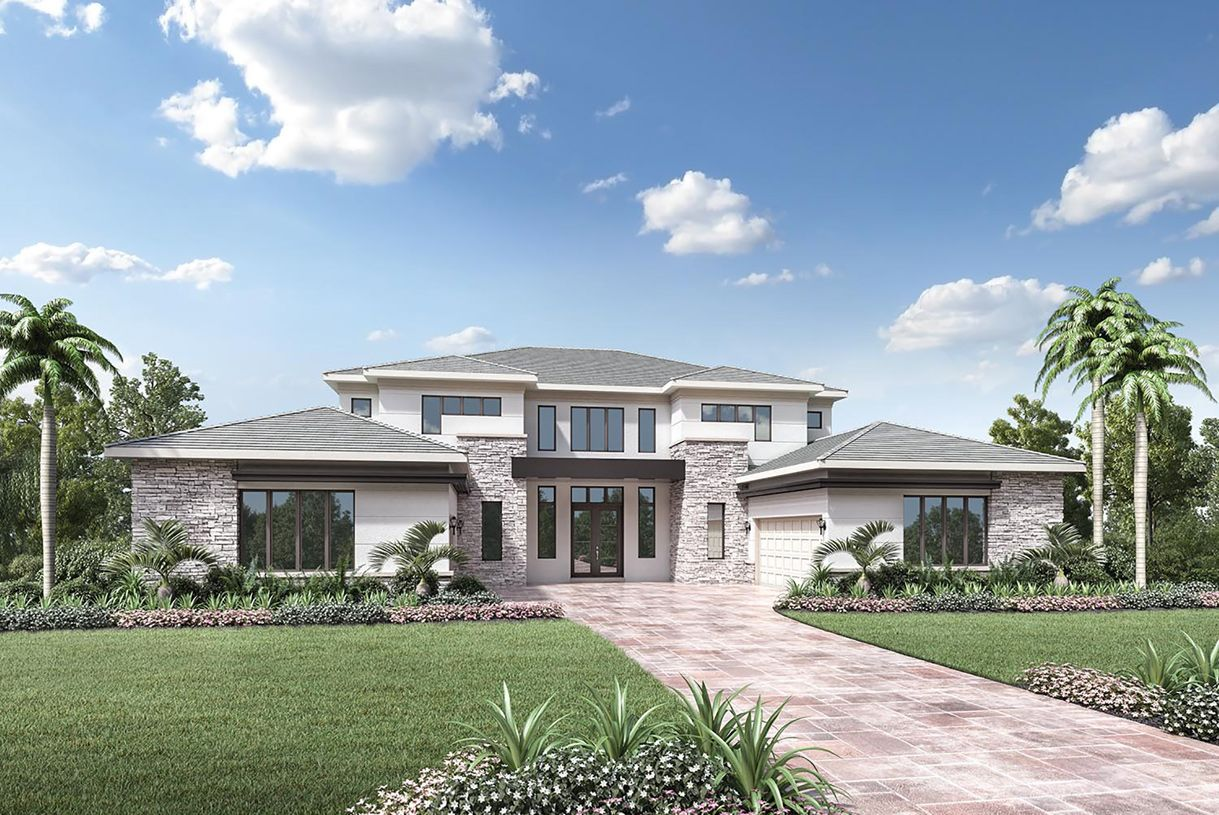 Exterior featured in the McIntosh II By Toll Brothers in Palm Beach County, FL