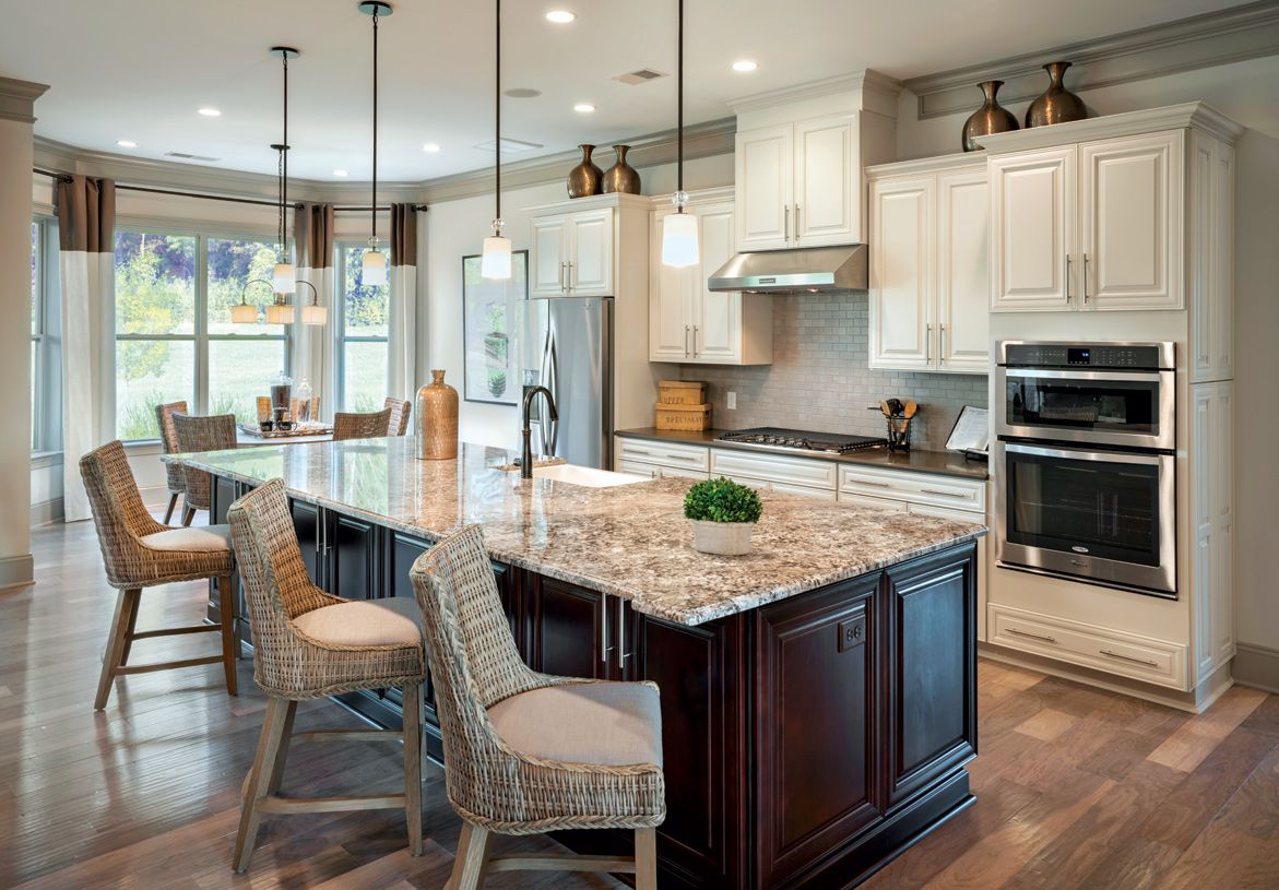 Kitchen-in-Waverly-at-Bowes Creek Country Club - The Masters Collection-in-Elgin