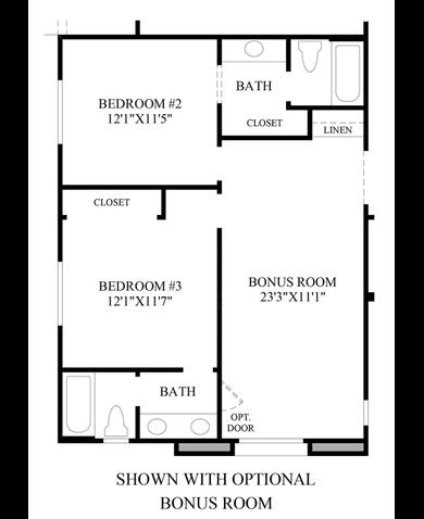Floorplan Image. Trapani Plan  Henderson  Nevada 89044   Trapani Plan at Toll
