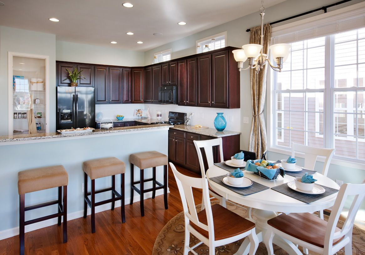 Kitchen featured in the Lehigh By Toll Brothers in Boston, MA