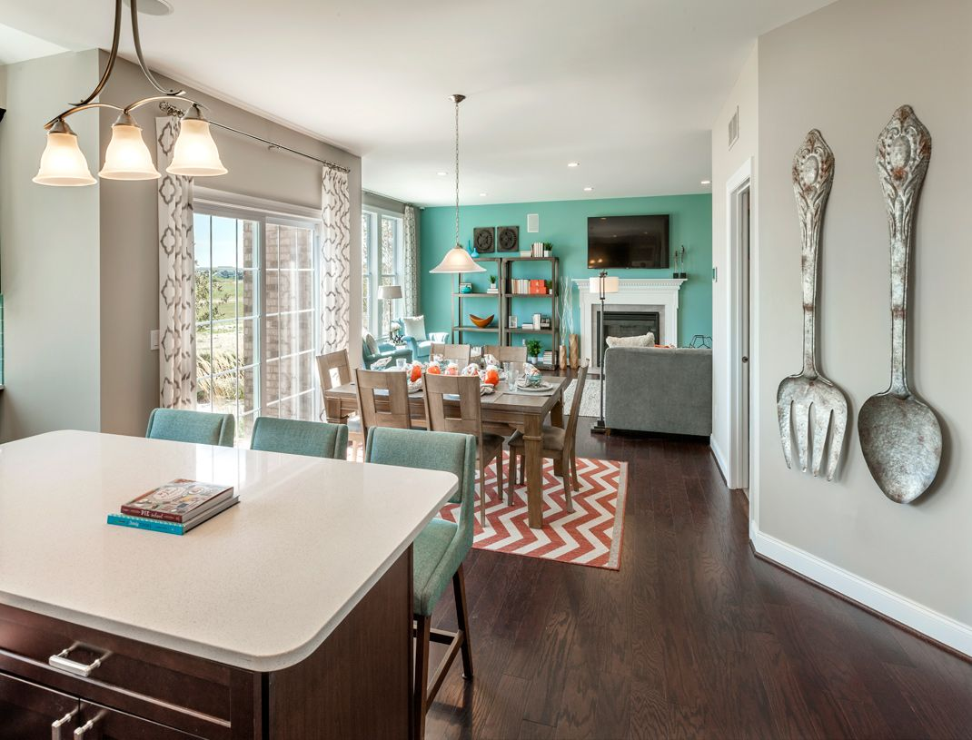 Greatroom-and-Dining-in-Amherst-at-Estates at South Windsor-in-South Windsor