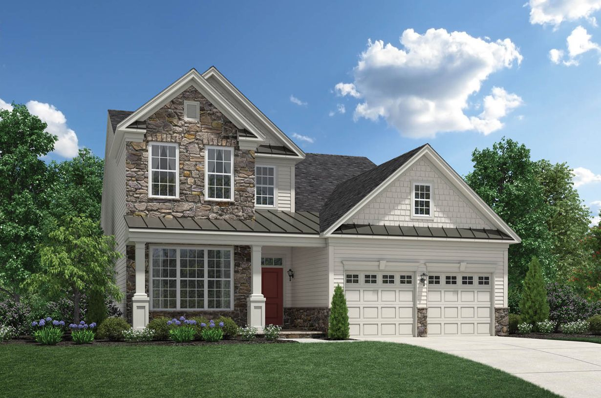 Exterior featured in the Hammond By Toll Brothers in Morris County, NJ