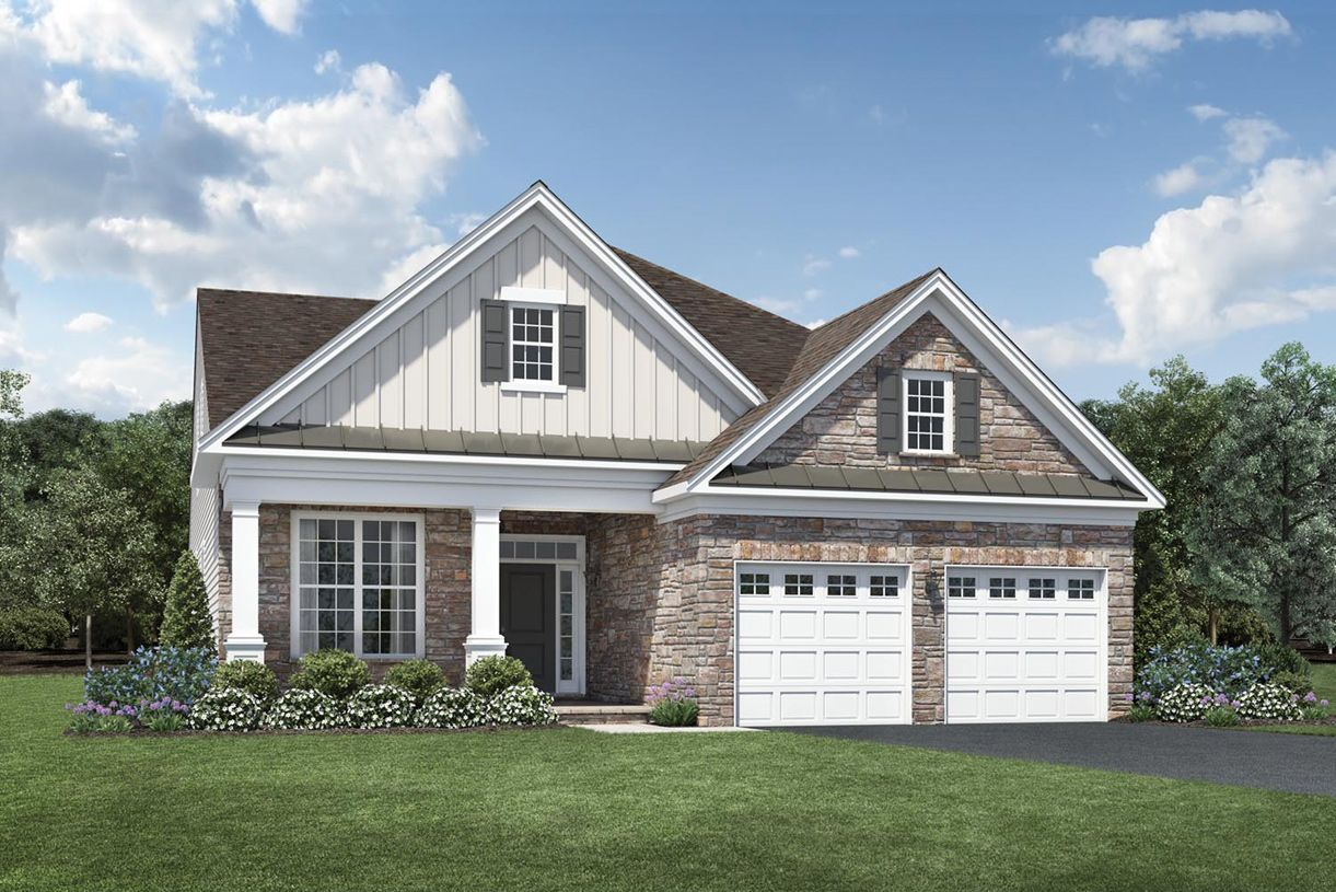 Exterior featured in the Binghamton By Toll Brothers in Morris County, NJ