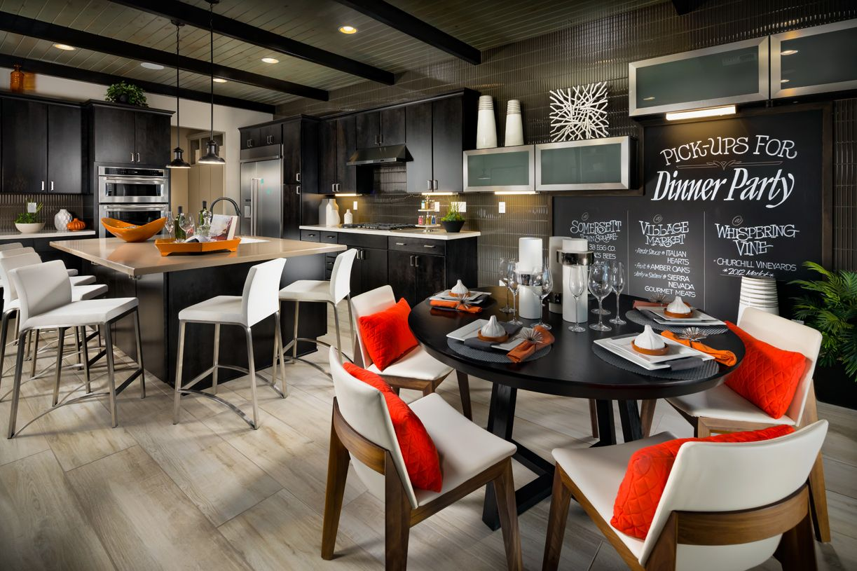 Kitchen-in-Hillcrest (NV)-at-Willow Bend at Saddle Ridge-in-Reno