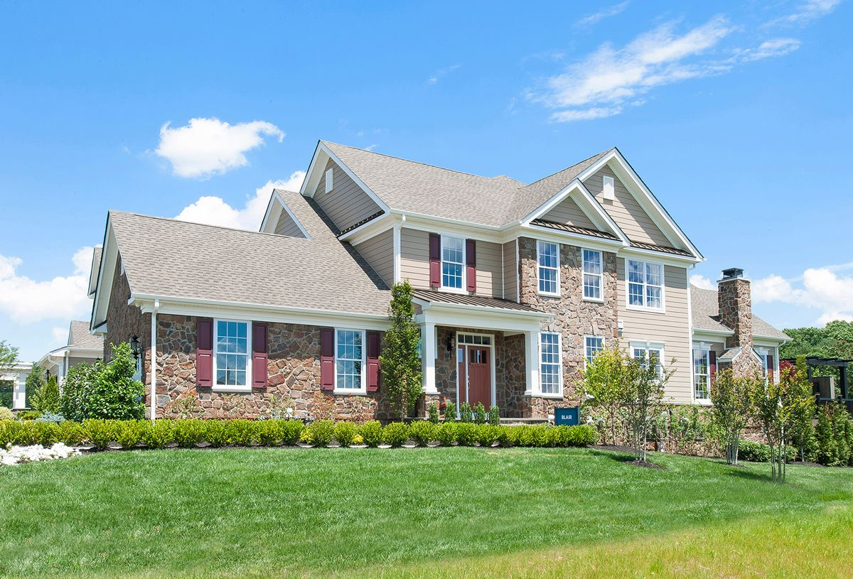 Exterior featured in the Blair By Toll Brothers in Monmouth County, NJ