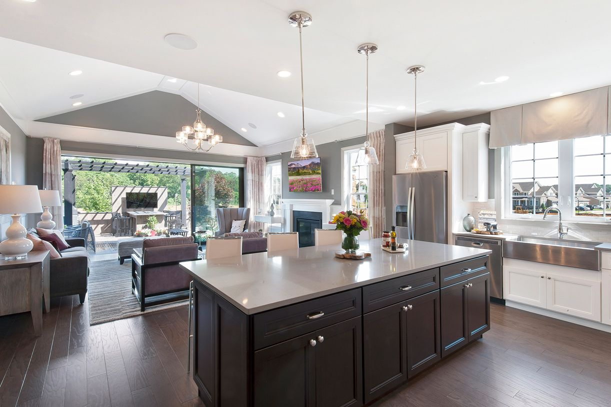 Kitchen featured in the Blair By Toll Brothers in Monmouth County, NJ
