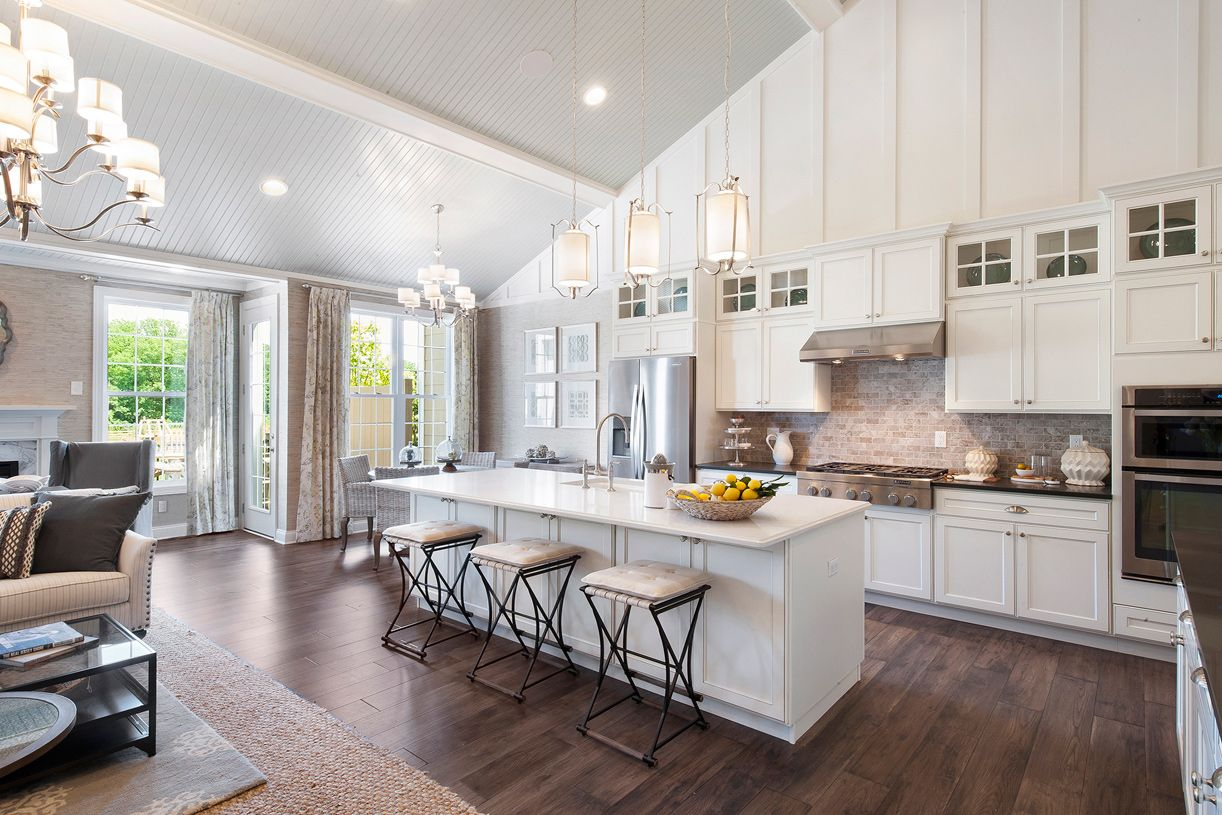 Kitchen featured in the Newton By Toll Brothers in Monmouth County, NJ