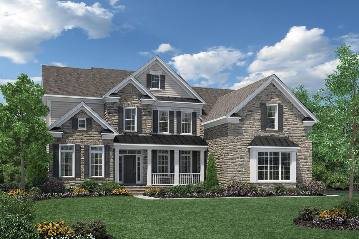 Exterior featured in the Duke By Toll Brothers in Bergen County, NJ