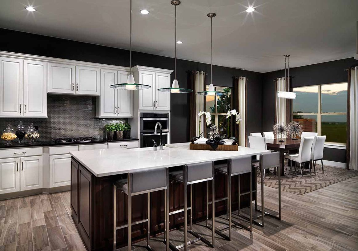 Kitchen-in-Durango-at-Toll Brothers at Inspiration - Boulder Collection-in-Aurora