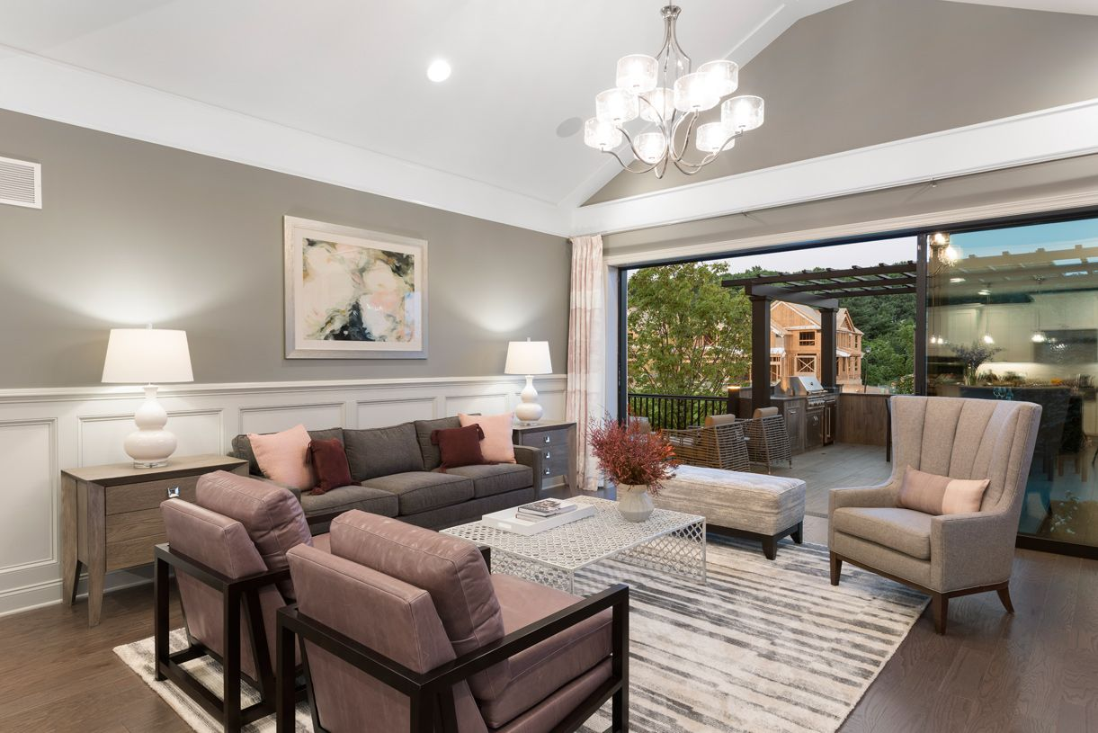 Living Area featured in the Blair By Toll Brothers in Monmouth County, NJ