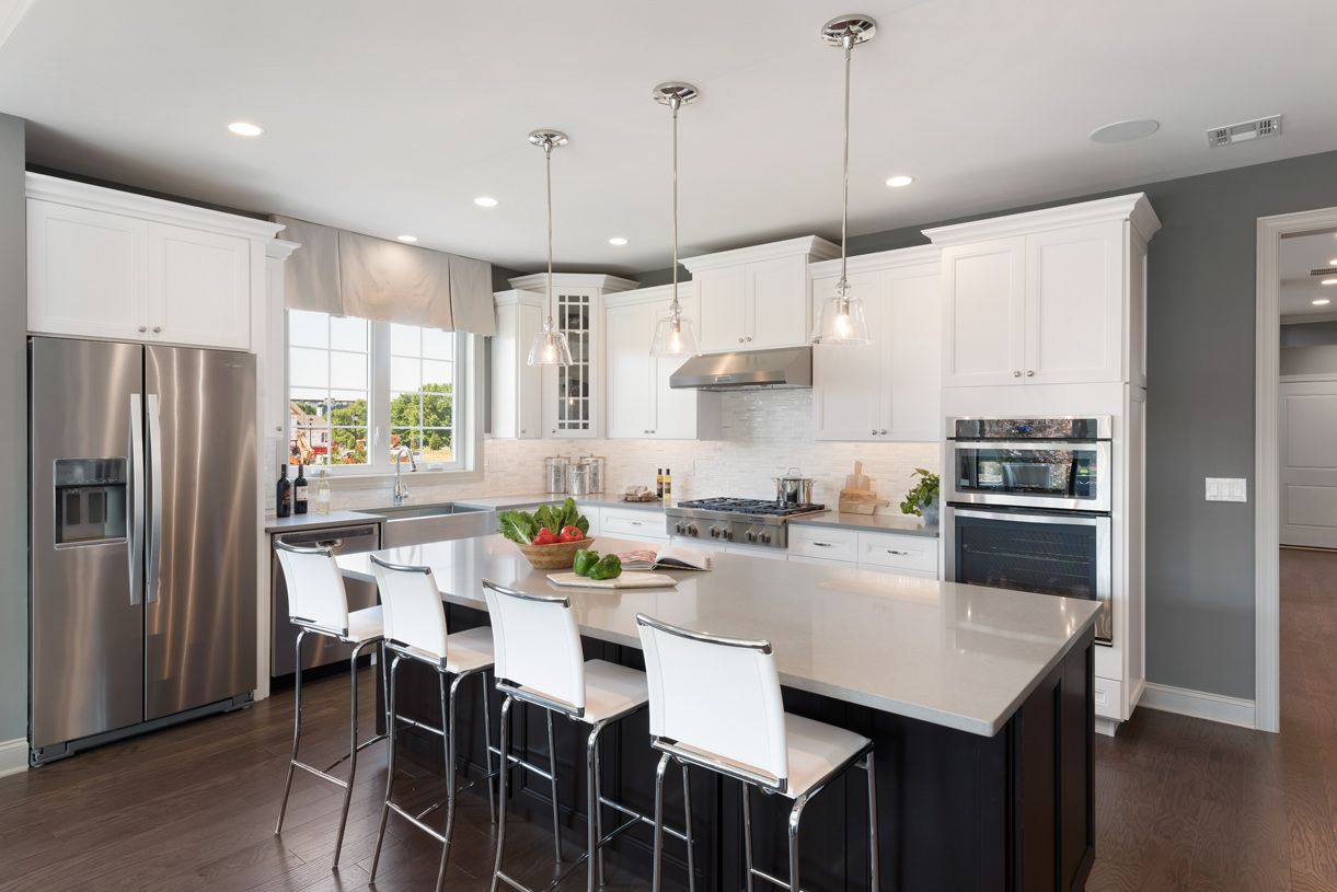 Kitchen featured in the Blair By Toll Brothers in Bergen County, NJ