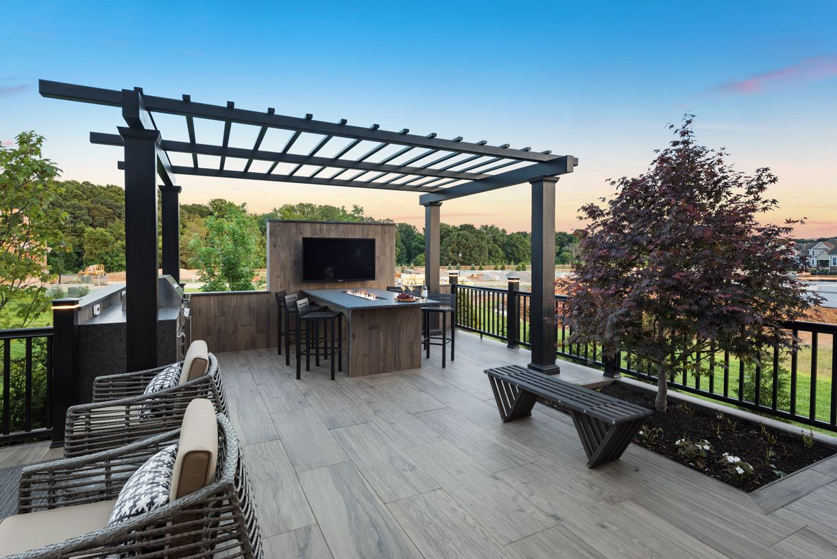 Exterior featured in the Blair By Toll Brothers in Bergen County, NJ