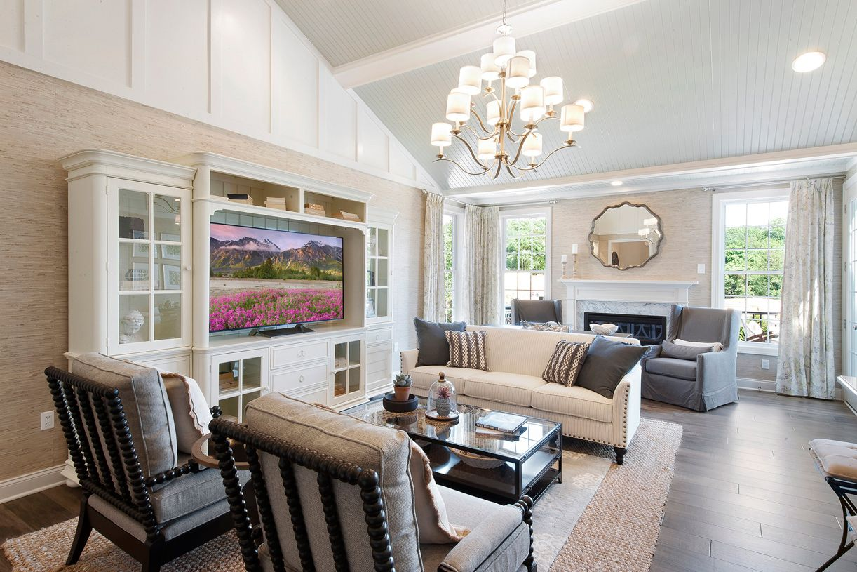 Living Area featured in the Newton By Toll Brothers in Monmouth County, NJ