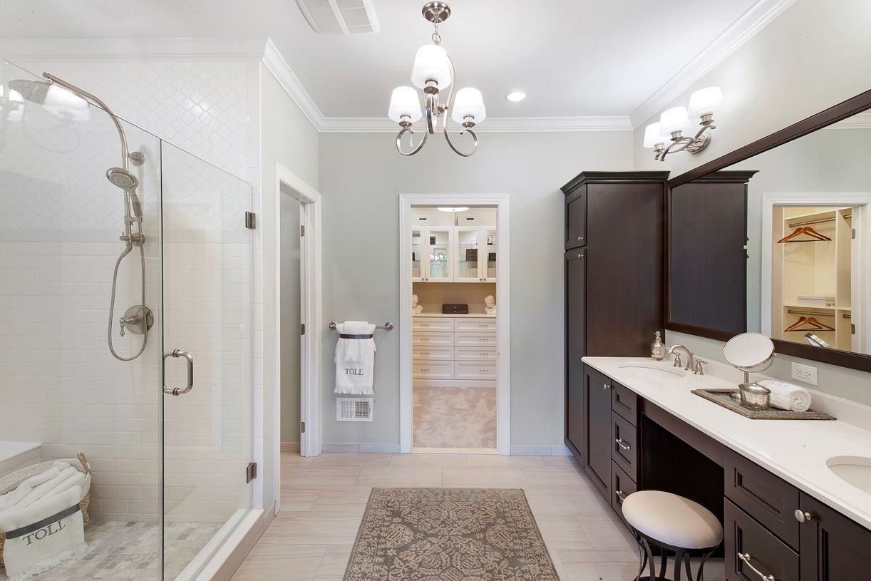 Bathroom featured in the Newton By Toll Brothers in Bergen County, NJ