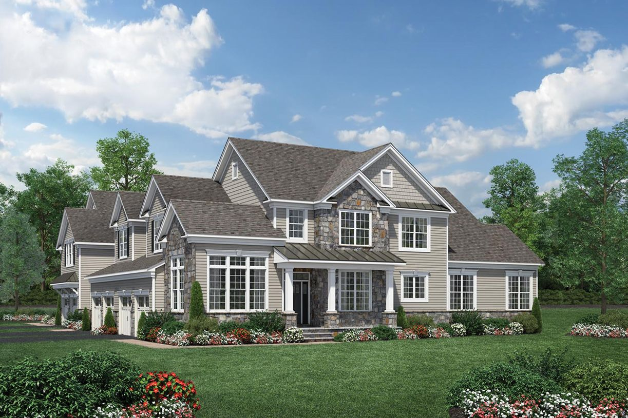 Exterior featured in the Ashton (NJ) By Toll Brothers in Bergen County, NJ