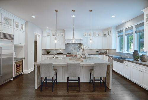 Kitchen-in-Hollister-at-Toll Brothers at Falls at Weddington-in-Weddington