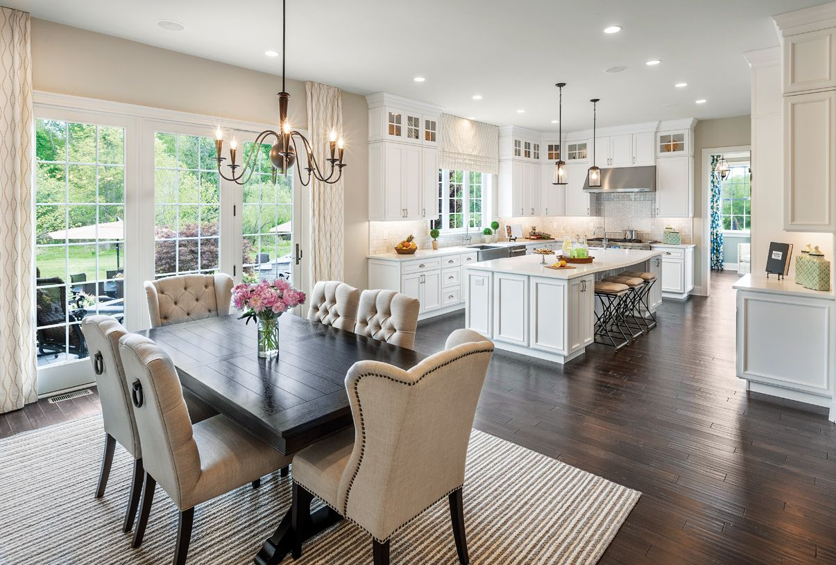 Kitchen featured in the Henley By Toll Brothers in Chicago, IL