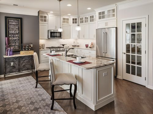 Kitchen-in-Canaan-at-Rivington by Toll Brothers - The Mews Collection-in-Danbury