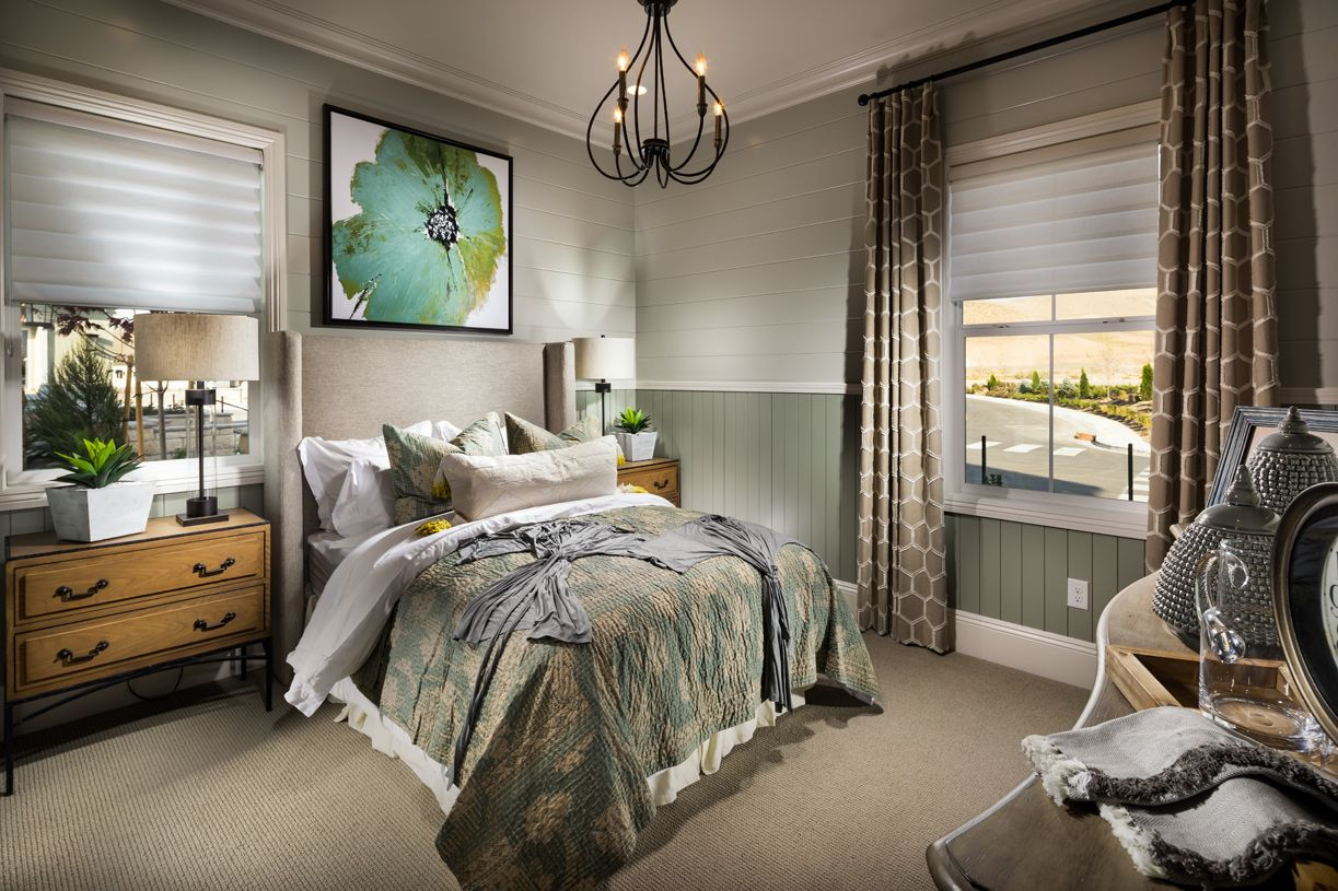 Bedroom featured in the Alava By Toll Brothers in Reno, NV