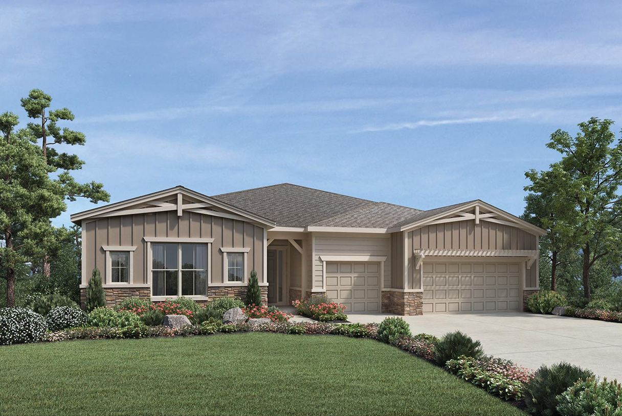 Exterior featured in the Chatfield By Toll Brothers in Denver, CO