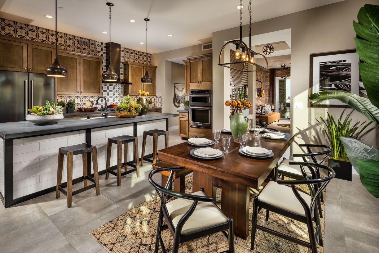 Kitchen-in-Oakmont-at-Fairway Hills in The Ridges-in-Las Vegas
