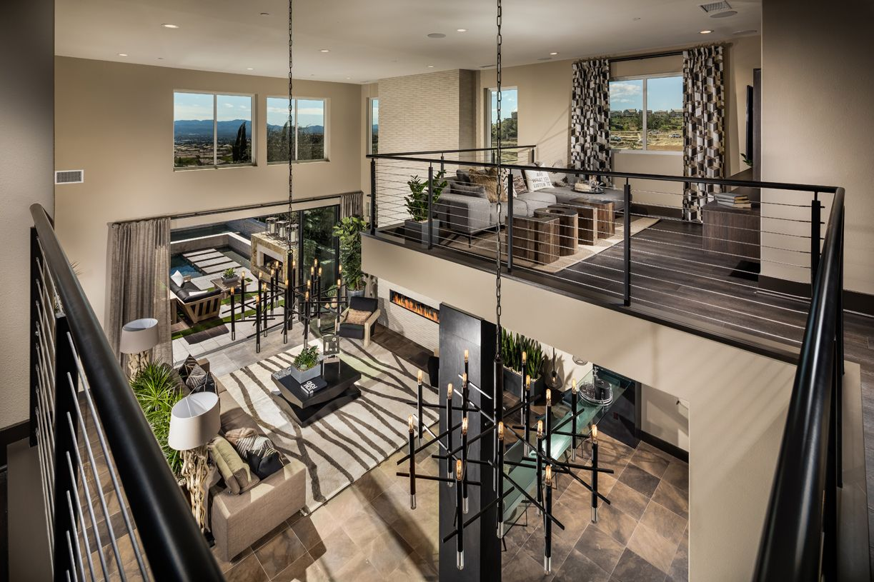 Living Area featured in the Castor By Toll Brothers in Los Angeles, CA