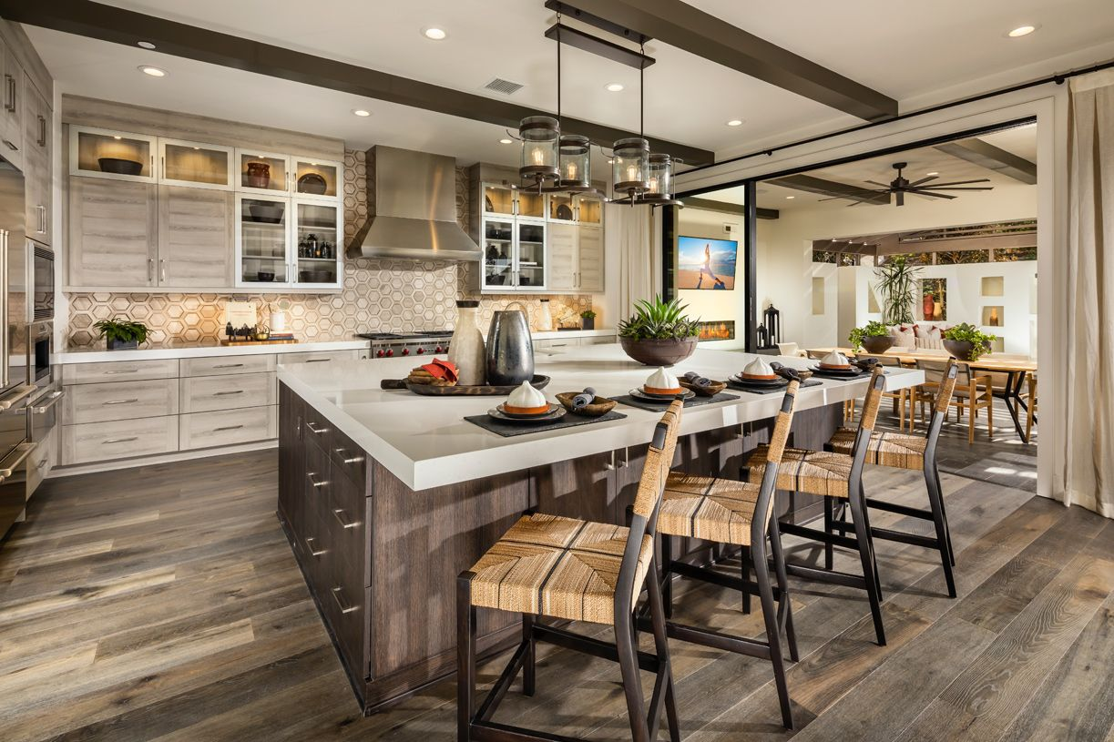 Kitchen-in-Solitaire-at-Solano at Altair-in-Irvine