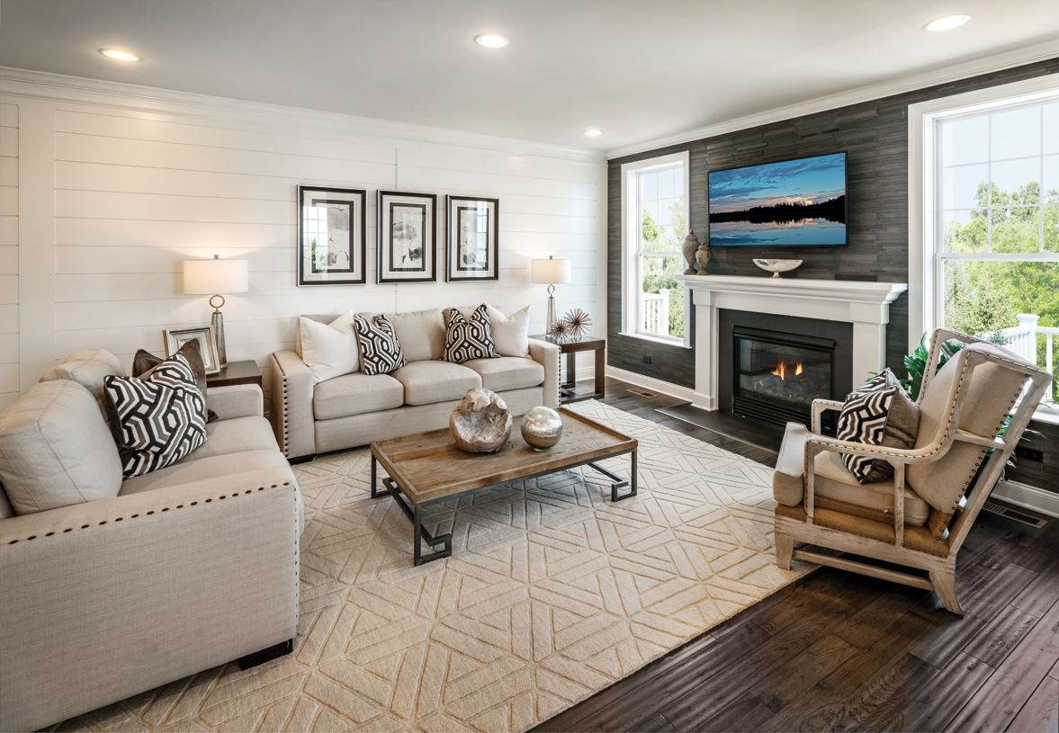 Living Area featured in the Denton By Toll Brothers in Ann Arbor, MI