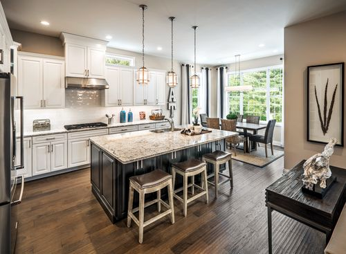 Kitchen-in-Bowan-at-Toll Brothers at The Pinehills - Vista Point-in-Plymouth