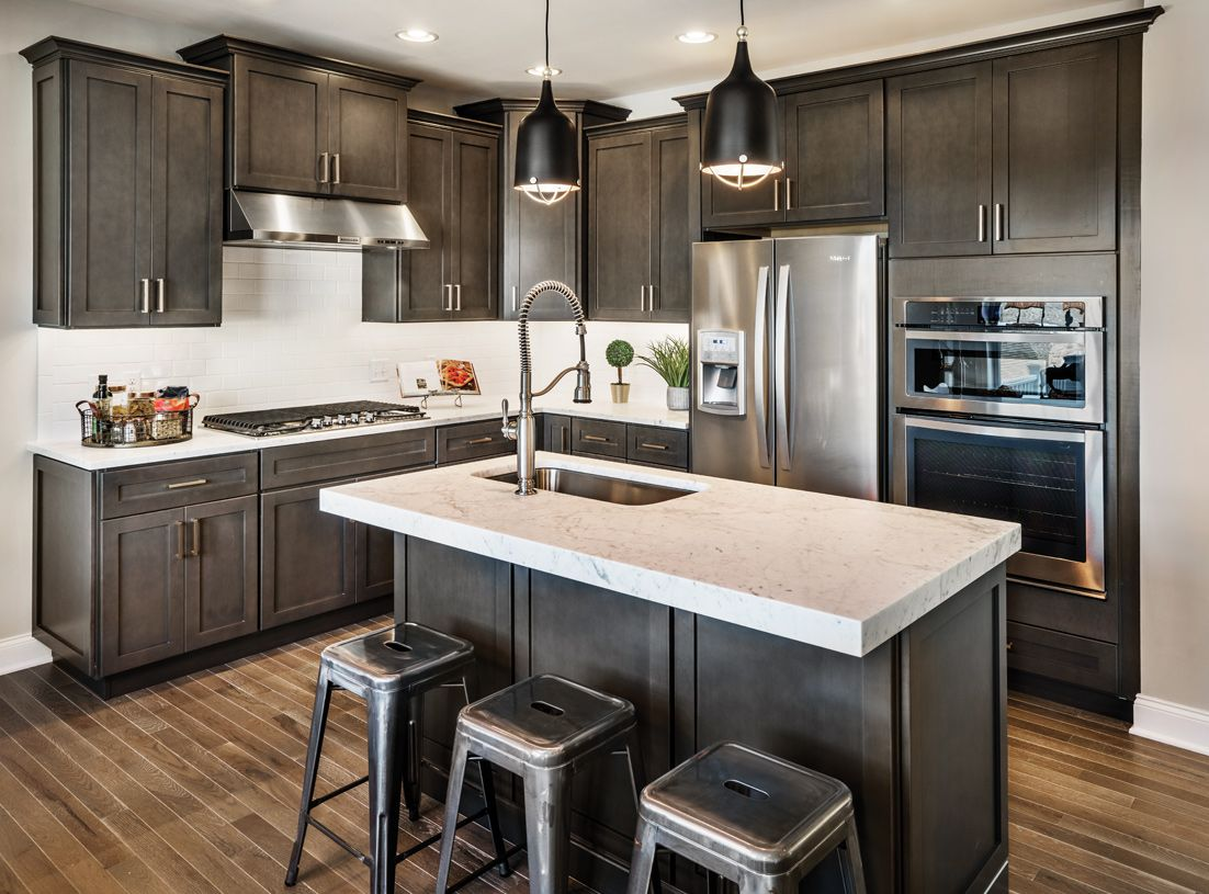 Kitchen-in-Portman-at-Rivington by Toll Brothers - The Ridge Collection-in-Danbury