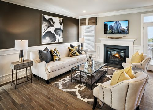 Greatroom-and-Dining-in-Portman-at-Rivington by Toll Brothers - The Ridge Collection-in-Danbury