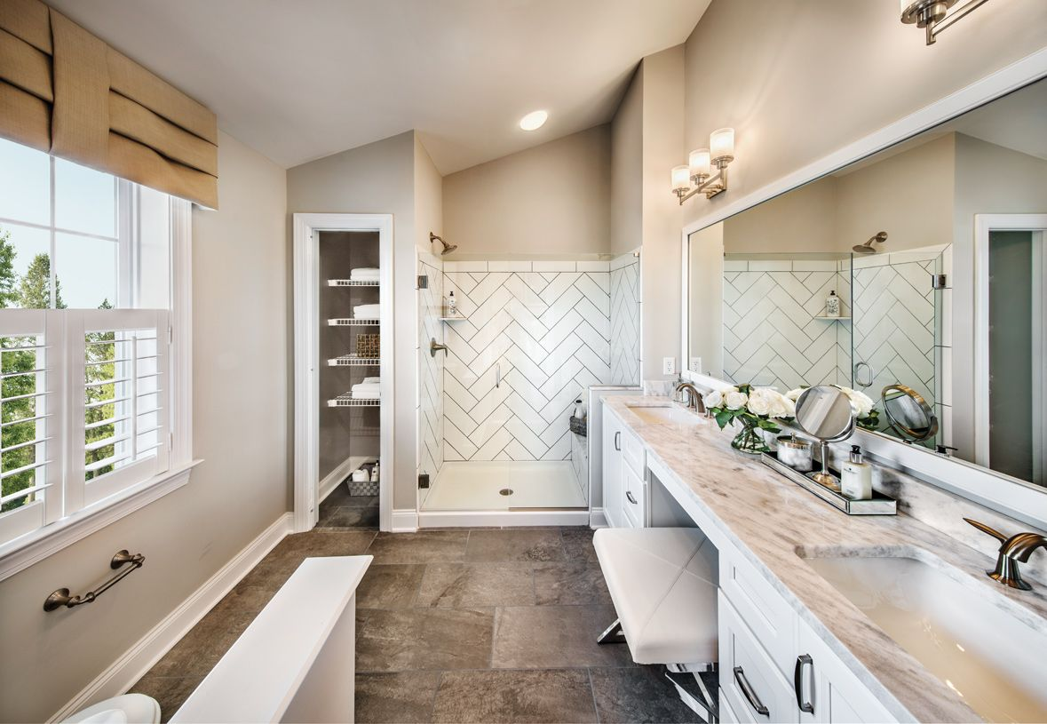 Bathroom featured in the Portman By Toll Brothers in Waterbury, CT