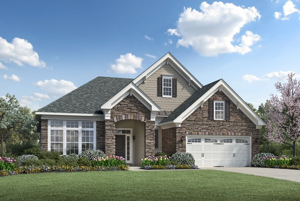 Exterior featured in the Bowan By Toll Brothers in Charlotte, NC