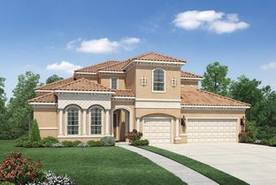 Longview Mediterranean - Woodson's Reserve - Executive Collection: Spring, Texas - Toll Brothers