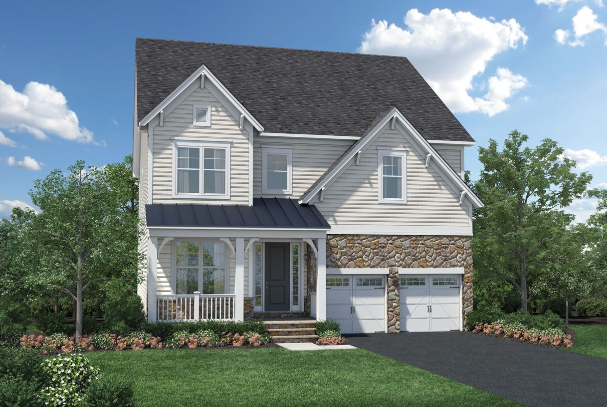 Exterior featured in the Fincastle By Toll Brothers in Baltimore, MD