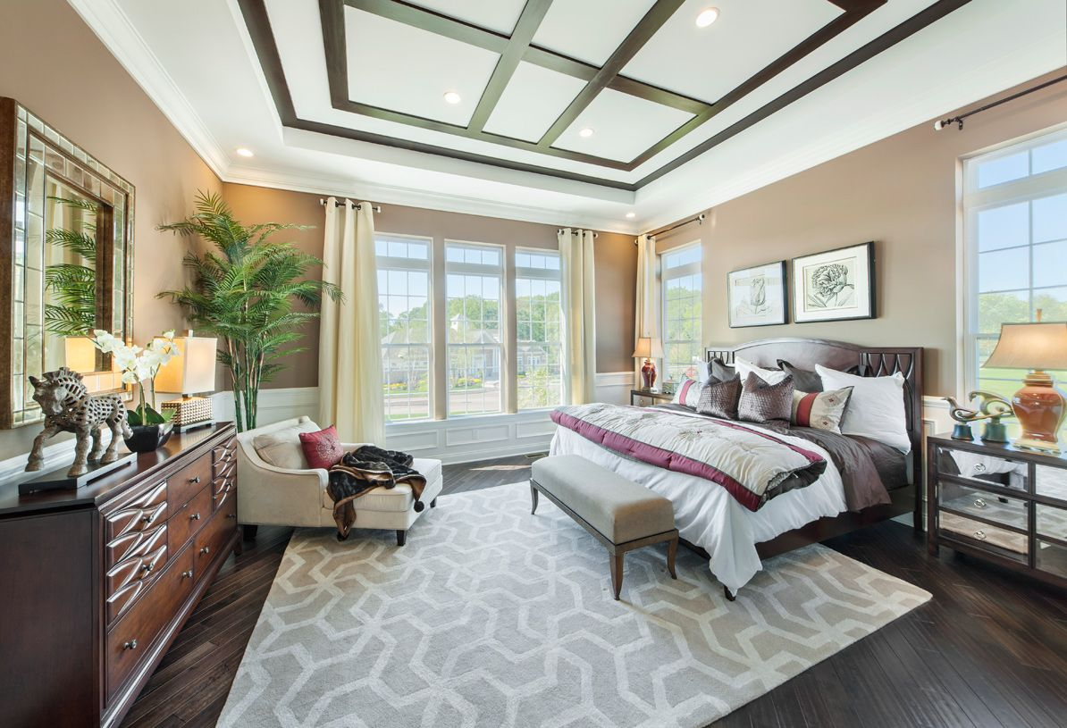 Bedroom featured in the Holcomb By Toll Brothers in Hunterdon County, NJ