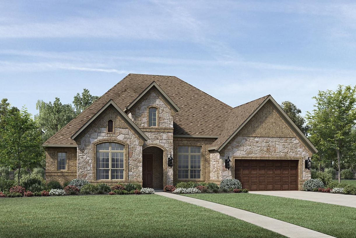 Exterior featured in the Emery By Toll Brothers in Houston, TX