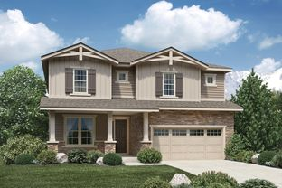 Townsend - North Hill - The Overlook Collection: Thornton, Colorado - Toll Brothers